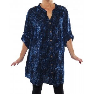 Chicago Blue Katherine Blouse