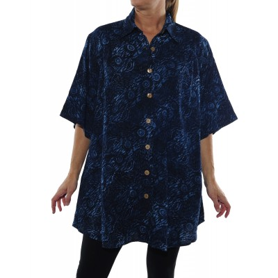 Chicago Blue New Tunic Top