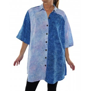 Chicago Ice/Jamaica Blue COMBO New Tunic Top