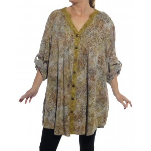 Chicago SUMMER/ Jamaica GOLD COMBO Katherine Blouse