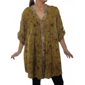 Jamaica GOLD/ Chicago SUMMER COMBO Katherine Blouse