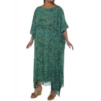 Flower Pools Caftan Dress
