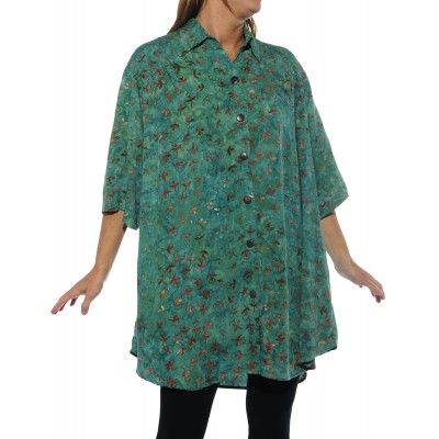 Flower Pools New Tunic Top