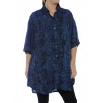 Flower Stars New Tunic Top