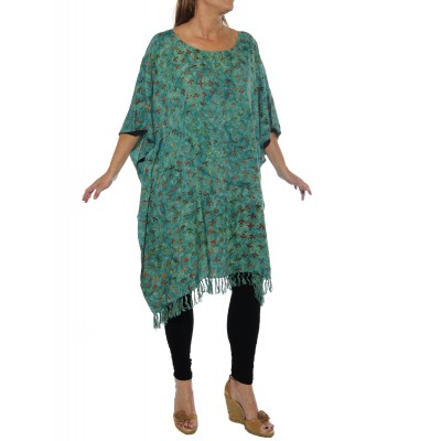 Flower Pools Caftan Top
