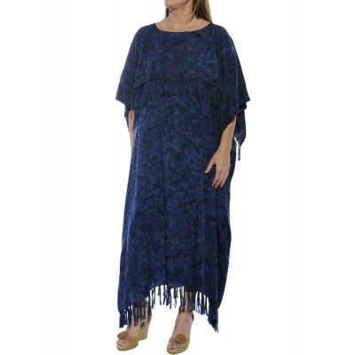 Flower Stars Caftan Dress