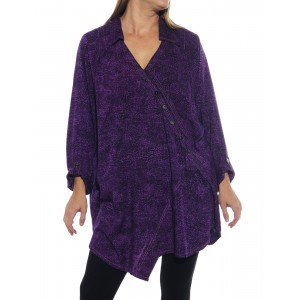 Prism Purple Soho Blouse