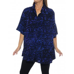 Bali Blue New Tunic Top