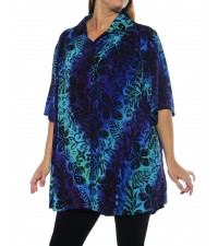 Blue Lagoon New Tunic Top
