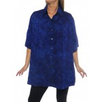 Prism Blue New Tunic Top