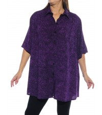 Prism Purple New Tunic Top
