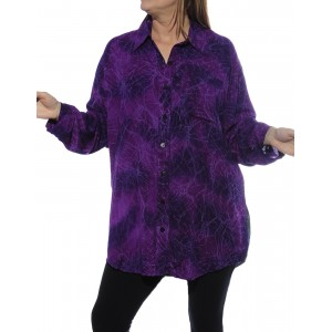 Cool Purple, Dusk Dragonfly COMBO Long Sleeve Big Shirt
