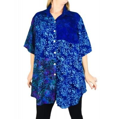 Women's Plus Size Tunic - Ibiza Combo