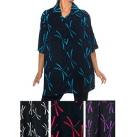 Dragonfly New Tunic Top