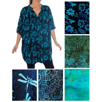 ALL PRINT Katherine Blouse -Pick your print(A)