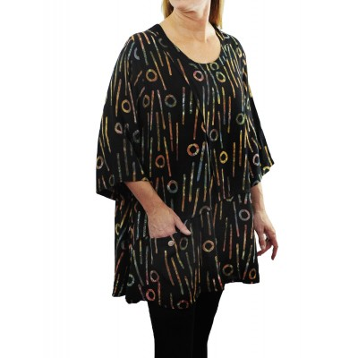 Bromo Black Artist Pocket Swing Top