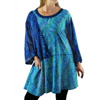 Water Leaves Aqua Artist Pocket Swing Top