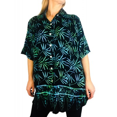 Batik Lighter-Weighted-Gauzy-Ramput New Tunic Top