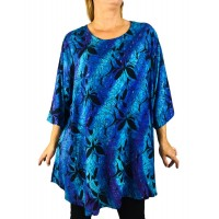 Blue Monarch Swing Top