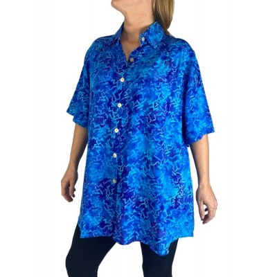 Blue Bamboo New Tunic Top