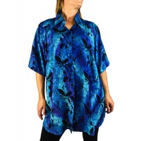 Blue Monarch New Tunic Top