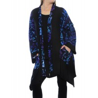 Lani BlackBlue COMBO Broadway Jacket