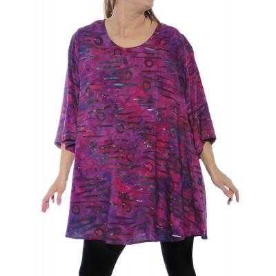 Women's Plus Size Swing - Bromo Pink