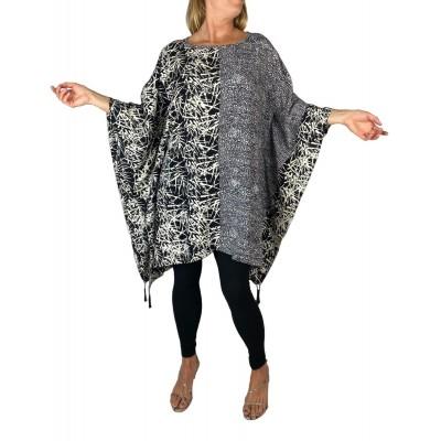 Women's Plus Size Caftan - Bolinas Combo