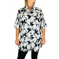 Women's Plus Size Tunic Top - Cayman
