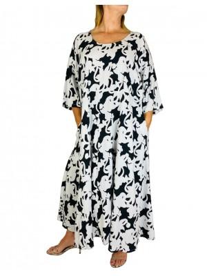 Women's Plus Size Cayman Delia Dress With Pockets