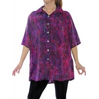 Bromo Pink New Tunic Top