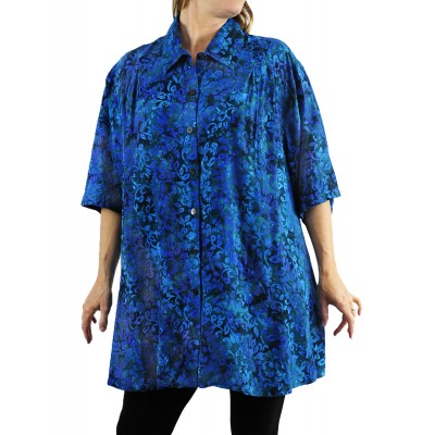 Women's Plus Size Top -Lakeside New Tunic