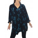 Blue Dragonfly Soho Blouse