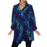 Blue Lagoon Soho Blouse
