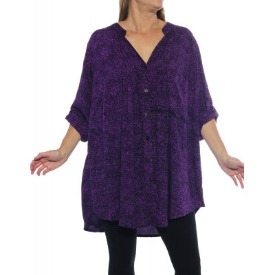 Prism Purple Katherine Blouse