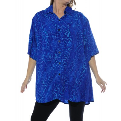 Water Leaves New Tunic Top