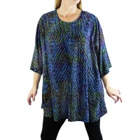 Batik Cloudburst Swing Top