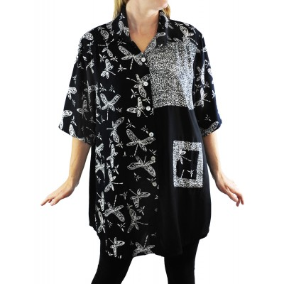 Dancing Dragonfly COMBO New Tunic Top