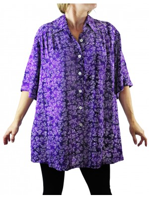 Lavender Fields New Tunic Top