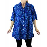 Royal Flush New Tunic Top
