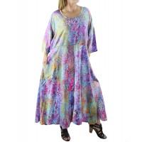 Dancing Sage Batik Delia Dress with Pockets