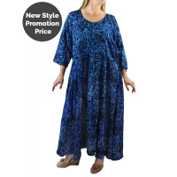 Deep Forest Blue Delia Dress with Pockets