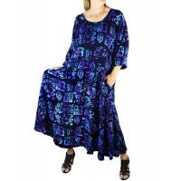 Lani BlackBlue Delia Dress with Pockets