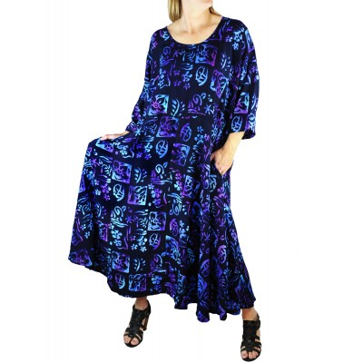 Lani BlackBlue Delia Dress with Pockets