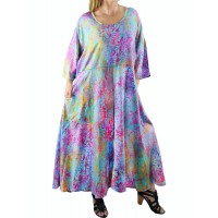 Women's Plus Size Dancing Sage Delia Dress With Pockets