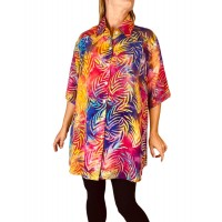 Women's Plus Size Tunic - Firefly
