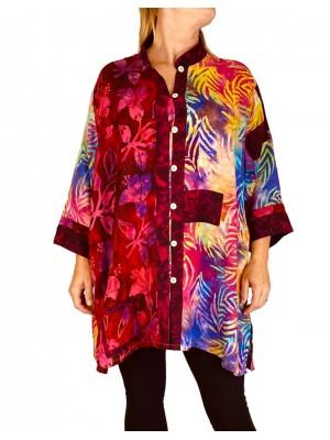 Women's Plus Size Blouse -Firefly Combo Orinda