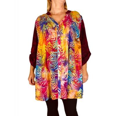 Women's Plus Size Blouse - Firefly Combo Katherine