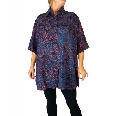 0X Women's Plus Size Tunic - Fuchsia Lady (exchange)