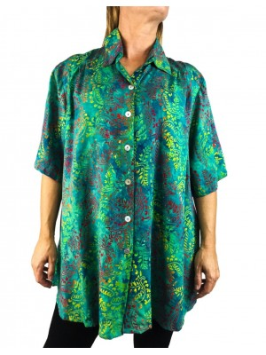 Green Ivy New Tunic Top